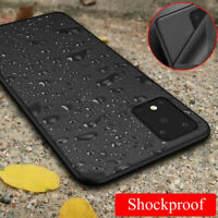 For Samsung Galaxy S20 Ultra S10 Ultra Thin Silicone TPU Frosted Back Cover Case