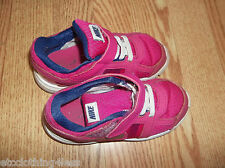 Nike pink girls shoes size 9.5