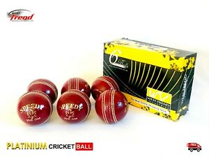 """SUPERIOR """"SPEEDY"""" Leather Cricket Balls on 🏷️SALE🏷️ Hand Stitched BOX OF 6"""