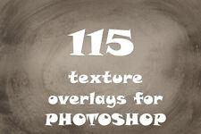 115 texture photo overlays  for photoshop lightroom