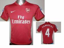 2008-10 FC Arsenal Home Shirt Fabregas #4 Football Jersey Soccer size - MB 10/12