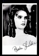 Brooke Shields ++Autogramm++ ++ Hollywood Legende ++CH 102
