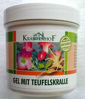 KRAUTERHOF Massage gel 250 ml Devil's claw and Eucalyptus