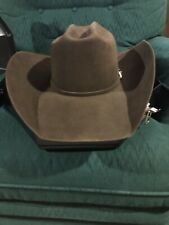 Shorty's Caboy Hattery 7 1/2 50x Beaver Brown Cowboy Western Hat