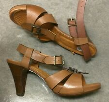 NEW $250 CHIE MIHARA ANTHROPOLOGIE 41 11 LEATHER SANDAL PUMP HEEL SHOE
