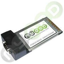 PCMCIA auf COM-Port (RS232 Seriell D-Sub 9 Pol.) Adapterkarte für ältere Laptops
