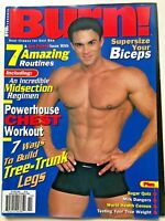 BURN Fitness Magazine October 2000 Powerhouse Chest Workout (Rare)