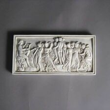"Apollo & Muses Graces 9"" Greek Roman Museum Sculpture Replica Reproduction"