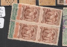 Ecuador SC 12,15,17 Blocks of Four MNH (3dft)