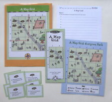 Evan Moor Geography Center Learning Activity Resource Game A Map Grid