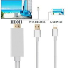 CAVO ADATTATORE HDMI VIDEO USB HDTV PER IPHONE 5 5S 6 6S 7 7S 8 X APPLE IPAD
