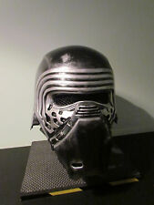 Star Wars Kylo Ren Deluxe 2 Piece Custom Weathered Helmet Cosplay.