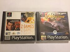 3 PLAYSTATION 1 007 GAMES THE WORLD IS NOT ENOUGH + TOMORROW NEVER DIES + RACING