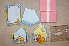 Olympia Sales Kitten & Puppy Stationery Set Note Card & Paper Envelopes