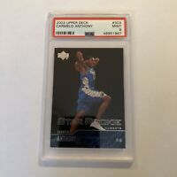 2003 Upper Deck Carmelo Anthony Rookie Card #303 - PSA 9 Mint Graded Card