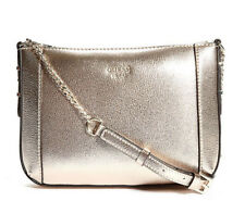 NWT Guess Kamryn Top zip Crossbody purse Handbag Metallic Gold
