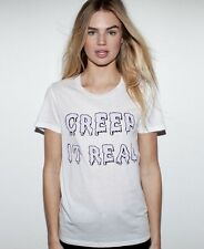 ZOE KARSSEN Creep It Real t-shirt tee top goth gothic halloween celeb asos M NWT