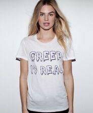 ZOE KARSSEN Creep It Real t-shirt tee top goth gothic halloween celeb asos M NWT