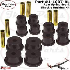 Prothane 1-1007-BL Rear Spring Eye & Shackle Bushing Kit for 84-99 Jeep Cherokee