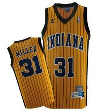 NBA Replica Stitched Reggie Miller #31 Indiana Pacers Hardwood Classic Jersey