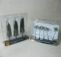 WOODLAND SCENICS CLASSICS LOT OF 2 TREE PACKS TR3562 TR3598 BP