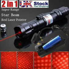 More details for upgraded 650nm red laser pointer pen rechargable lazer visible beam light 0.1 mw