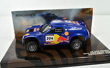 VW Tuareg 2004 PARIS-DAKAR kleinschmidt-pons 1:43 DE MINICHAMPS DIE-CAST