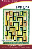 Pop Ups Quilt Pattern by Cozy Quilt Designs