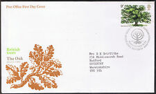 Tree Planting Year - British Trees - Oak  First Day Cover 1973  SG922 Edinburgh
