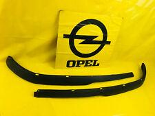 NEU SATZ Leiste Stoßstange unten Opel Astra G Verlängerung Spoiler Front Blende