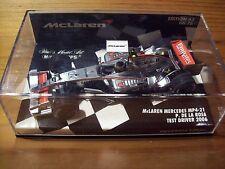 1/43 McLAREN MERCEDES MP4/21 PEDRO DE LA ROSA 2006 TEST DRIVER