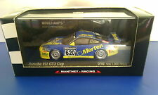 MINICHAMPS PORSCHE 911GT3 CUP MANTHEY RACING LIMITED 1/43 DIECAST