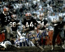 LEROY KELLY CLEVELAND BROWNS SIGNED 8x10 (OSG COA) (8-4)