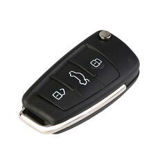 3 Button Replacement Key Fob Case Flip Blade Fits For Audi A3 A4 A6 Q7 TT HT