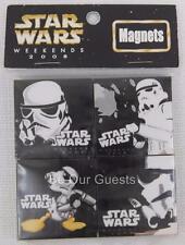 Disney Star Wars Weekends 2008 Donald Stormtrooper Magents Magnet Set New