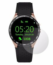 4x Screen Protector Full cover of the glass for Kingwear KW88 SmartWatch
