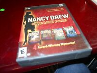 Nancy Drew: Ultimate Dare (PC, 2008) COMPLETE FREE SHIPPING