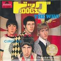 THE WHO-DOGS / CIRCLES-JAPAN 7INCH MINI LP SHM-CD Ltd/Ed D73