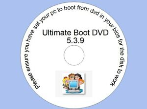 Ultimate Boot USB Restore, Repair, and Recovery for Windows XP Vista 7 8 10 USB*