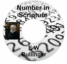 Number in Scripture-E W Bullinger-CD Ebook PDF-Kindle-iPhone-Droid Compatible