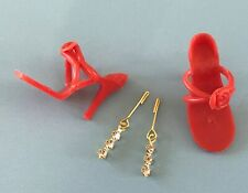 Vintage Doll Shoes,Jewelry Little Miss Revlon Miss Ginger Coty Girl Vogue Jill