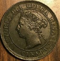1884 CANADA LARGE CENT PENNY