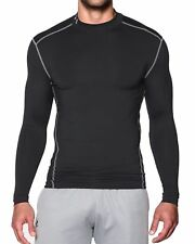 Under Armour Herren Kompressionsshirt Mock UA ColdGear® Armour Schwarz