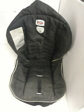 (B)Britax B-Safe Infant Baby Car Seat Black Fabric Pad Cover Cushion Replacement