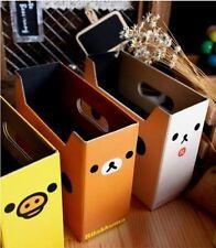 Rilakkuma Relax Bear Cute DIY Small Storage Box Pen Holde