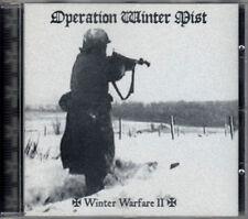 OPERATION WINTER MIST winter warfare II CD limited edition 1000 Black Metal