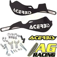 Acerbis Rally Pro Black Handguards Motocross Enduro 22mm Oversize 1 1/8 Bars New