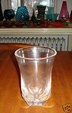 Vintage 1950s Edward Hald for Orrefors crystal vase