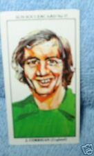 Joe Corrigan Angleterre Gardien De but Football CARTE DE COLLECTION #37