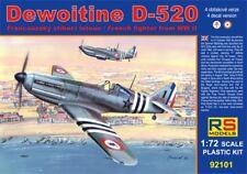 RS Models 1/72 Dewoitine D.520 # 92101